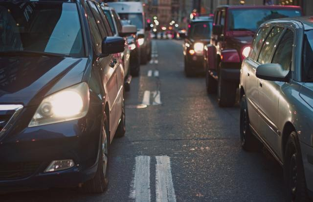 Traffic jams are a source of stress
