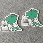 t-rex sticker tsc-rex