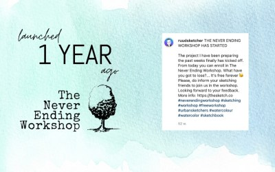 1 year of The Never Ending Workshop