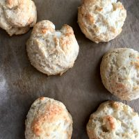 Garlic Parmesan Drop Biscuits