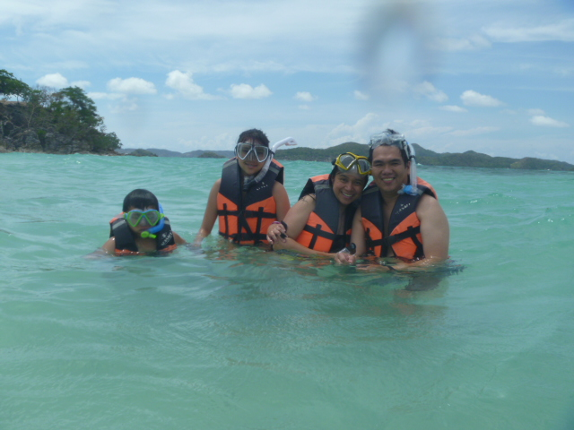 Snorkelling in Coron, Palawan