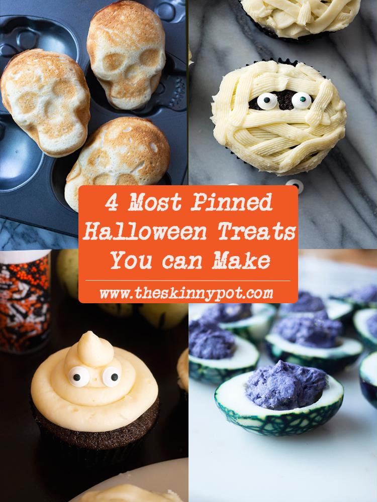 4 Easy Halloween Treats The Skinny Pot