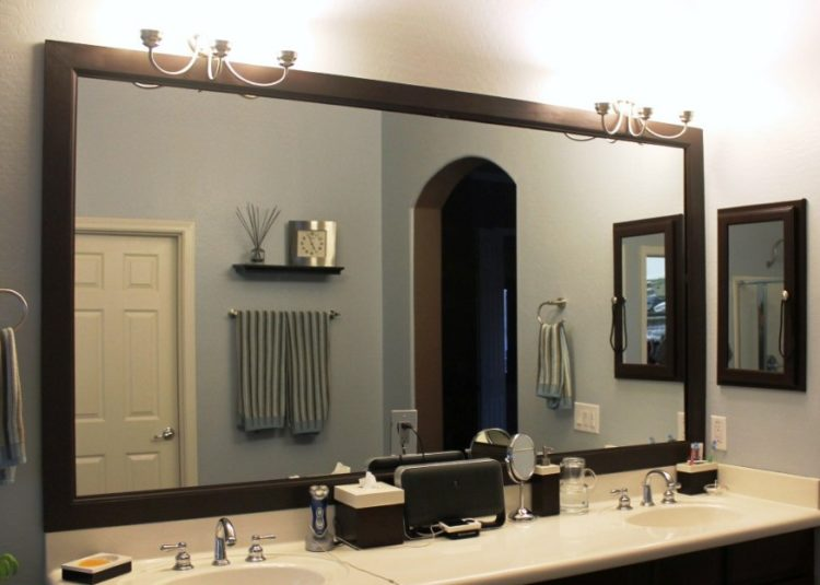 Enjoy Your Bath Time With These Beautiful Design of Bathroom Mirror Ideas 15