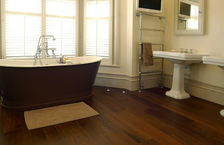 Dark Wood Floors Design For Your Attractive House Area