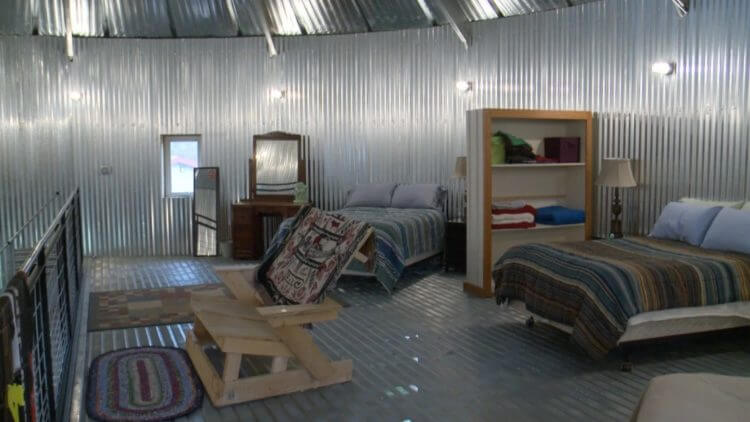 15 Anti Mainstream Living Space Design From Grain Bin House