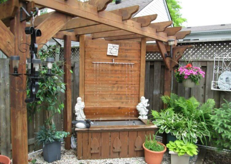21 Backyard Wall Fountain Ideas to Wow Your Visitors - TSP ... on Backyard Feature Walls  id=73821