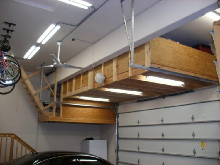 13 Creative Overhead Garage Storage Ideas You Should Know 2