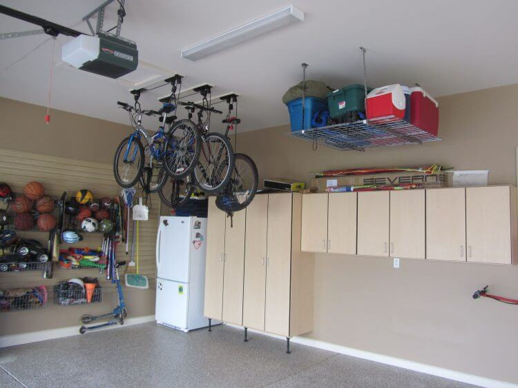 13 Creative Overhead Garage Storage Ideas You Should Know 3