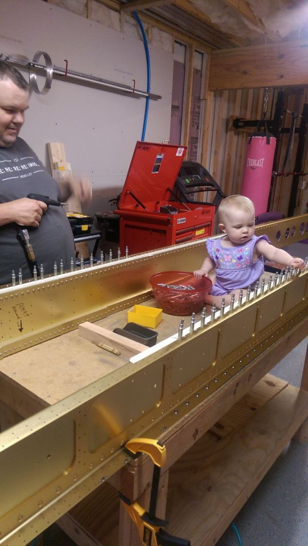 Acacia Helping on the Main Spars