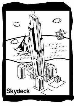 Skydeck Chicago Coloring Pages