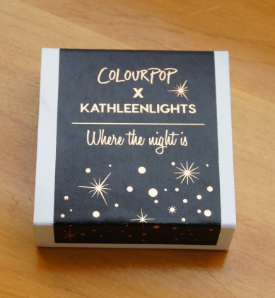Colourpop X Kathleenlights Where the night is Super Shock Shadow Quad