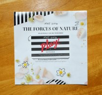 Sephora Play! May 2016 The Forces of Nature
