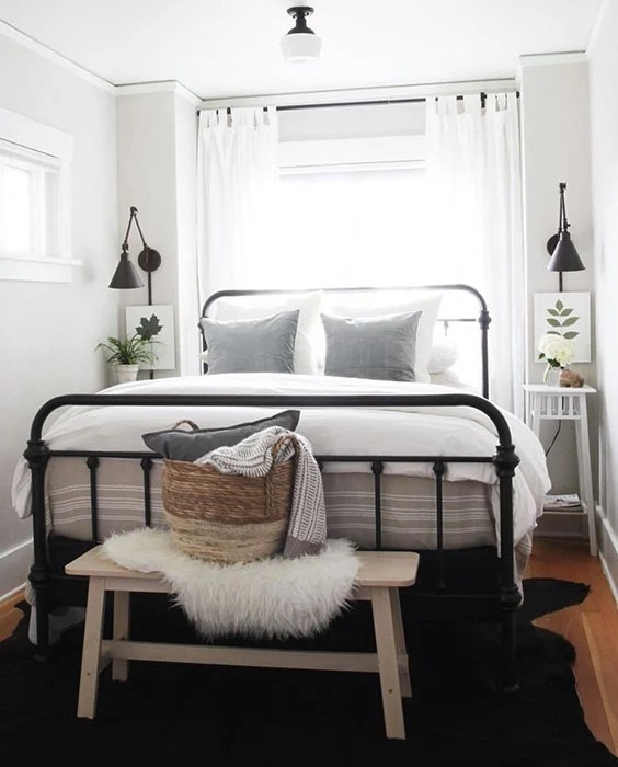Tiny Bedroom Lighting Ideas Novocom Top