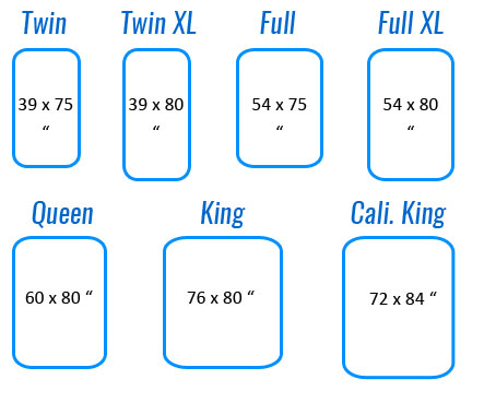Air Mattress Size Chart