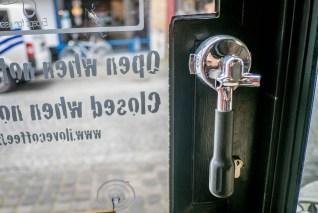 Great door handle!