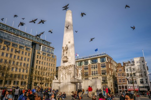 National monument, Dam square