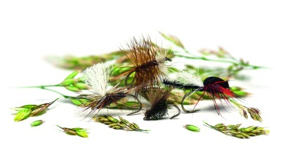 Four High Summer Dry Flies