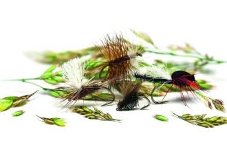 Four High Summer Dry Flies