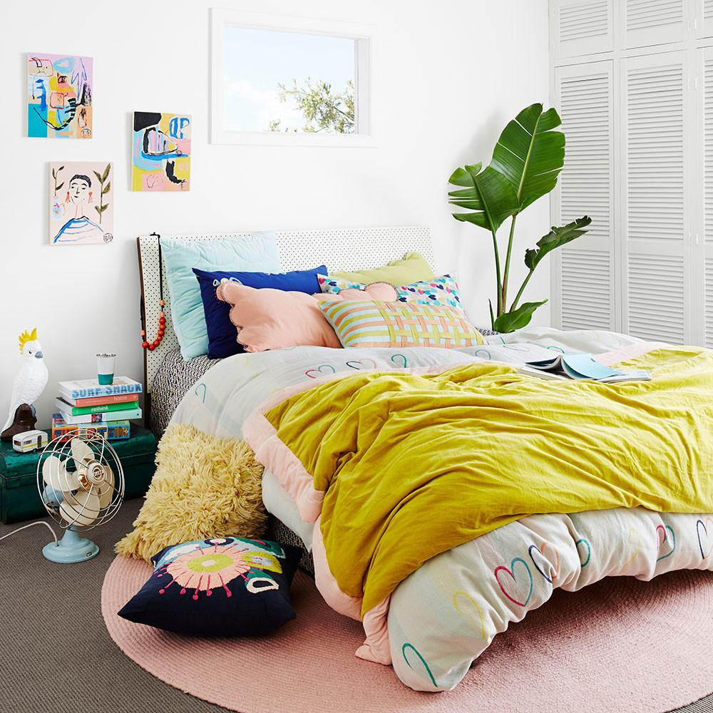Chartreuse with blush velvet