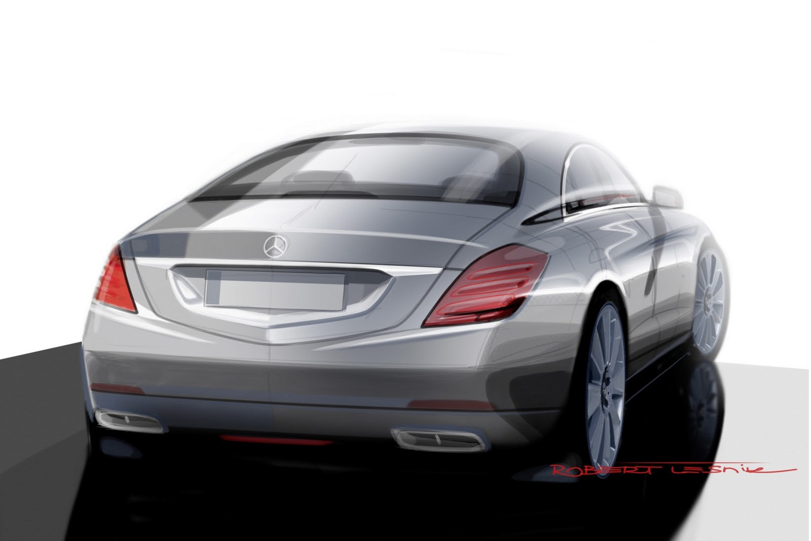 2014 Mercedes Benz S-Class Sketch - SMADE MEDIA (2)