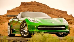 chevrolet Corvette Stingray Transformers 4 SMADE MEDIA