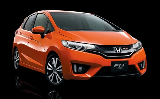2015 Honda Fit RS Front End