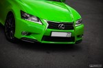 The Green Poison - Bright Green Lexus GS  (4)- SMADE MEDIA