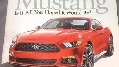 Photo of LEAK! 2015 Ford Mustang?