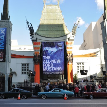 All-New Ford Mustang Reveal in Los Angeles