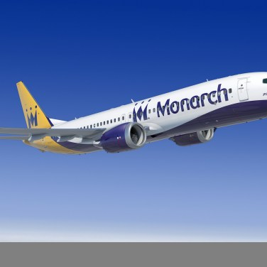 Monarch Airlines Selects Boeing as Preferred Bidder for Fleet Replacement
