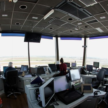 A View of Ben Gurion Operation from side the Air Fraffic Control Tower
