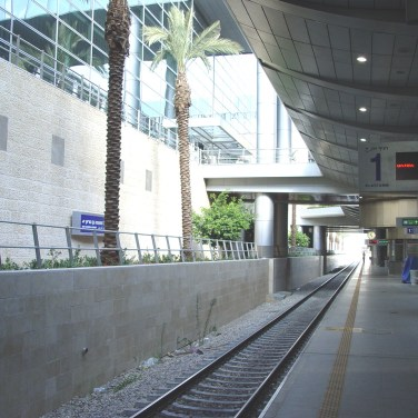 A Subway Station at Ben Gurion Airport