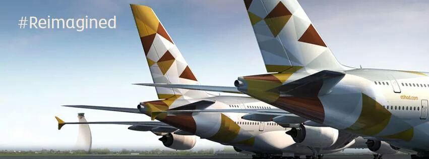 Etihad Airways New Livery