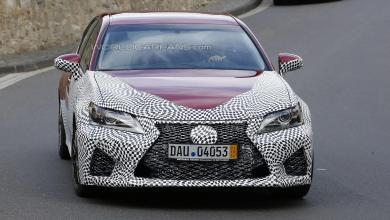 Photo of GS F Spotted Rapped Up and Testing in Europe