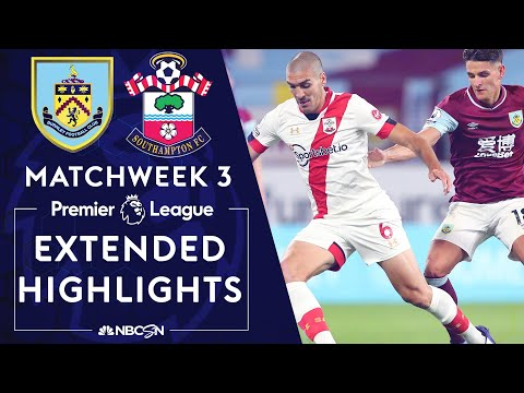 Burnley v. Southampton | PREMIER LEAGUE HIGHLIGHTS | 9/26/2020 | NBC Sports