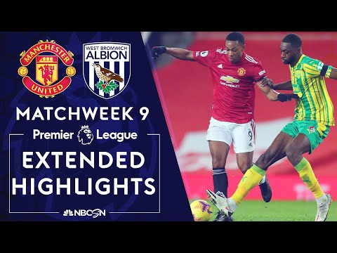 Manchester United v. West Brom | PREMIER LEAGUE HIGHLIGHTS | 11/21/2020 | NBC Sports