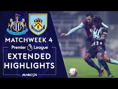 Newcastle v. Burnley | PREMIER LEAGUE HIGHLIGHTS | 10/3/2020 | NBC Sports