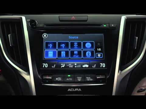 Acura Control Interface – TLX and MDX