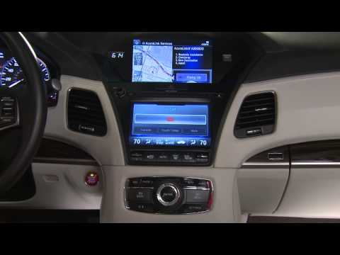Acura — RLX — Using Destination Link with AcuraLink®