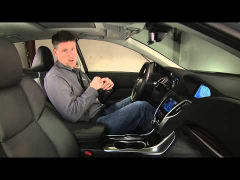 Acura – 2015 TLX – Interior Space Design