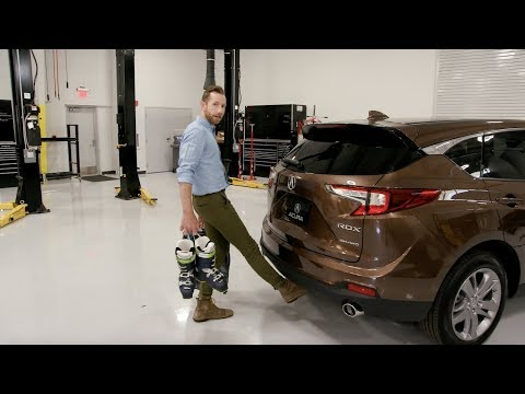 2019 RDX: Tailgate and Cargo Area Review