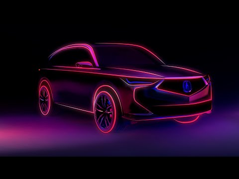 Next-Generation Acura MDX Prototype – Global Debut Oct. 14