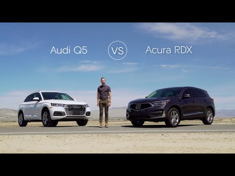 2019 Audi Q5 Road Test & Review vs. The 2019 Acura RDX