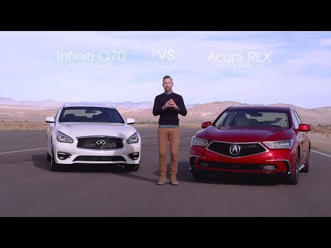 Infiniti Q70 vs. Acura RLX – Video Review Comparison