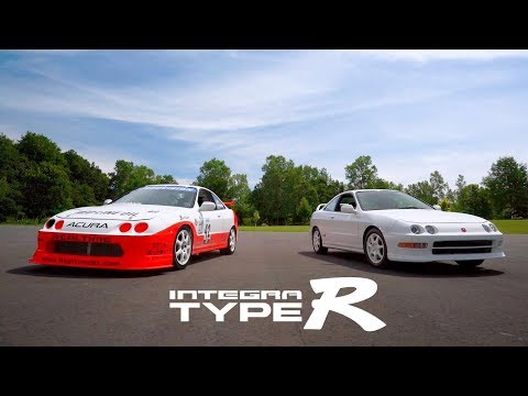 Legendary Acura Integra Type R Racecar Screams Back to the Track at 9,000 rpm