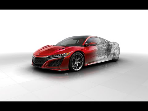The Magic Behind the Acura NSX Engine