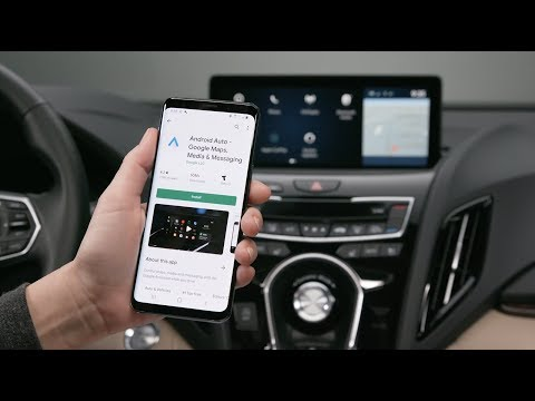 How to pair an Android™ phone via Android Auto™    True Touchpad Interface™