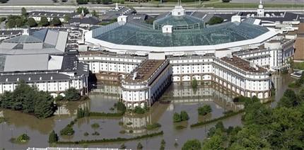 Gaylord Opryland Resort Flooded