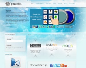 Goatella Website Screenshot