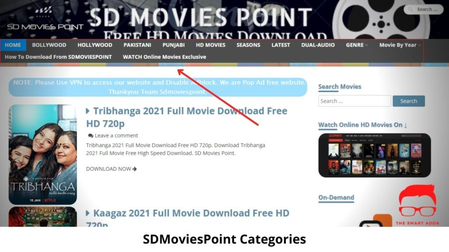 SD Movies Point 2021 New Link: Download Bollywood Hollywood Movies
